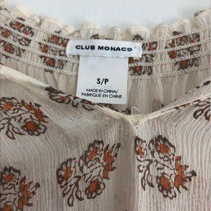 Club Monaco Tops - Club Monaco Silk Shirt